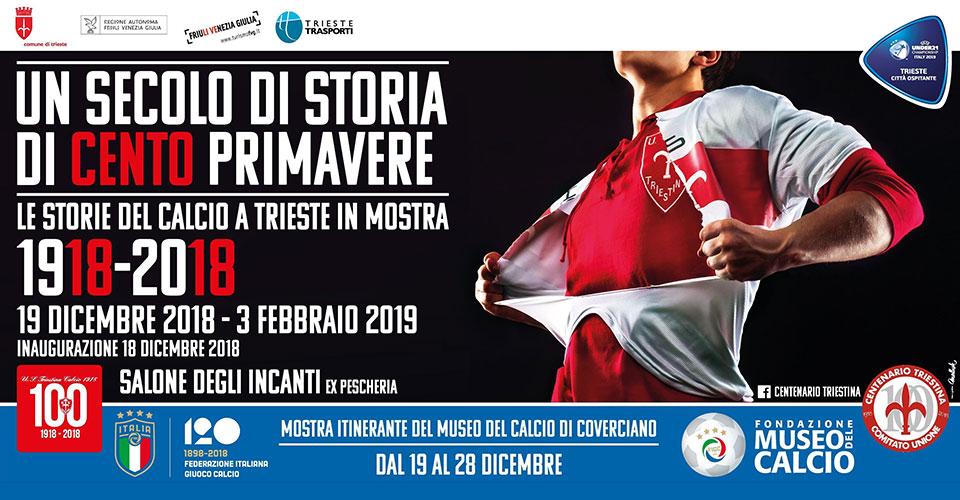 Triestina Calcio Calendario.Un Secolo Di Storia Di Cento Primavere Salone Degli